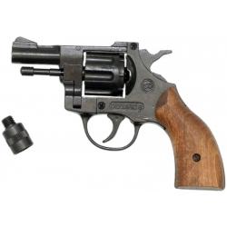 Startovací revolver Bruni Olympic 6 dřevo cal.6mm