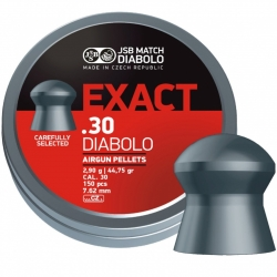 Diabolo JSB Exact 150ks cal.7,62mm 3,25g