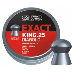 Diabolo JSB Exact King 350ks cal.6,35mm