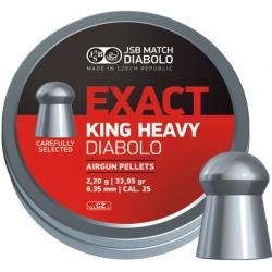 Diabolo JSB Exact King Heavy 150ks cal.6,35mm
