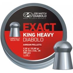 Diabolo JSB Exact King Heavy 300ks cal.6,35mm