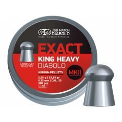 Diabolo JSB Exact King Heavy MKII 300ks cal.6,35mm