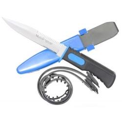 Potápěčský nůž Muela 14.3 modrý