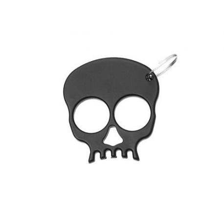 Boxer 9545 klíčenka lebka černá
