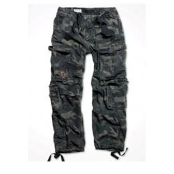 Kalhoty SURPLUS Airborne Black camo