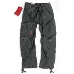Kalhoty Airborne vintage OVERSIZE - černé