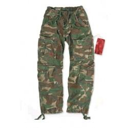 Kalhoty SURPLUS Airborne Woodland