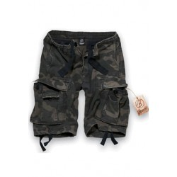 Kraťasy BRANDIT Trucker Vintage Shorts darkcamo
