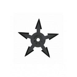 Vrhací hvězdice NINJA 5 černá