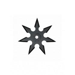 Vrhací hvězdice NINJA 7 černá